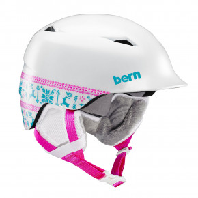 Go to the product Helmet Bern Camino satin white fair isle 2018/2019