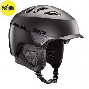 Go to the product Helmet Bern Heist Brim Mips matte black 2020/2021