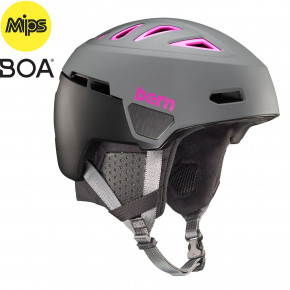 Go to the product Helmet Bern Heist Mips matte grey and pink 2019/2020