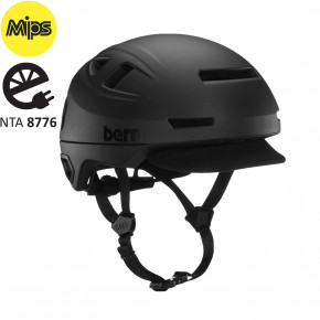 Go to the product Helmet Bern Hudson Mips matte black 2020