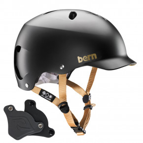 Go to the product Helmet Bern Lenox H2O satin black 2020