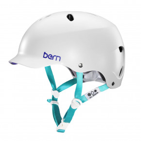 Go to the product Helmet Bern Lenox H2O satin white multi 2018