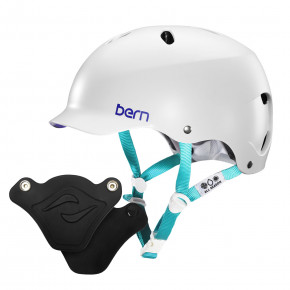 Go to the product Helmet Bern Lenox H2O satin white multi 2020