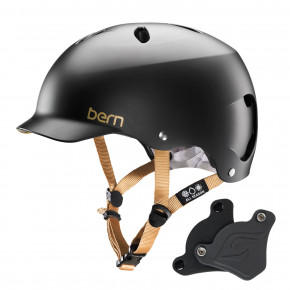 Go to the product Helmet Bern Lenox H2O Wep satin black 2018