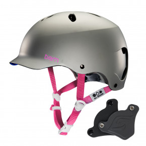 Go to the product Helmet Bern Lenox H2O Wep satin grey 2018