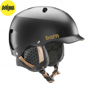 Go to the product Helmet Bern Lenox Mips satin black 2020/2021