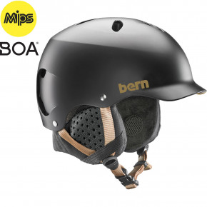 Go to the product Helmet Bern Lenox Mips satin black 2019/2020