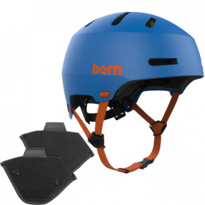 Go to the product Helmet Bern Macon 2.0 H2O matte azure blue 2020