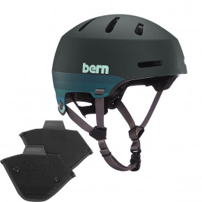 Go to the product Helmet Bern Macon 2.0 H2O matte retro forest green 2020