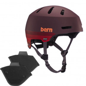Go to the product Helmet Bern Macon 2.0 H2O matte retro maroon 2020