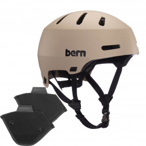 Go to the product Helmet Bern Macon 2.0 H2O matte sand 2020