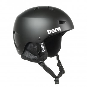 Go to the product Helmet Bern Macon Crank-Fit matte black 2018/2019