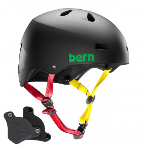 Go to the product Helmet Bern Macon H2O matte black rasta 2019