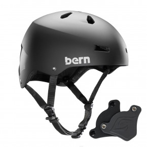 Go to the product Helmet Bern Macon H2O Wep matte black 2018