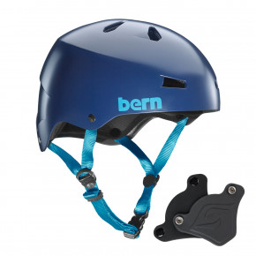 Go to the product Helmet Bern Macon H2O Wep satin navy blue 2018