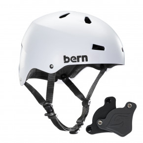 Go to the product Helmet Bern Macon H2O Wep satin white 2018