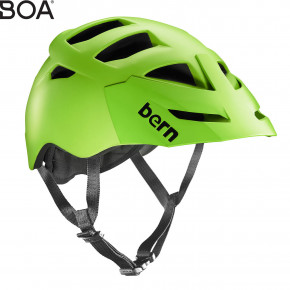 Go to the product Helmet Bern Morrison matte neon green 2016