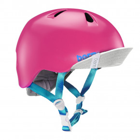 Go to the product Helmet Bern Nina satin hot pink 2019