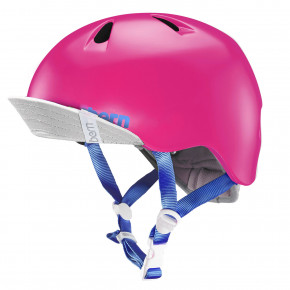 Go to the product Helmet Bern Nina satin hot pink 2018