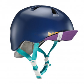 Go to the product Helmet Bern Nina satin navy blue 2019