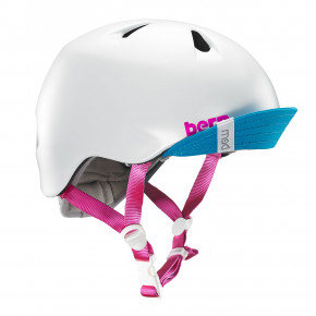 Go to the product Helmet Bern Nina satin white 2019