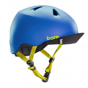 Go to the product Helmet Bern Nino matte blue 2019