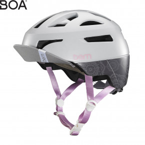 Go to the product Helmet Bern Parker satin light grey mandala 2017