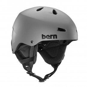 Go to the product Helmet Bern Team Macon matte grey 2018/2019