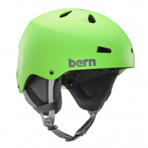 Go to the product Helmet Bern Team Macon matte neon green 2017/2018