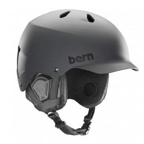 Go to the product Helmet Bern Watts Crank Fit matte grey 2017/2018