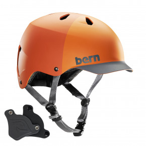 Go to the product Helmet Bern Watts H2O matte orange hatstyle 2019
