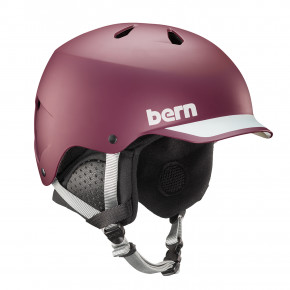 Go to the product Helmet Bern Watts matte burgundy 2020/2021