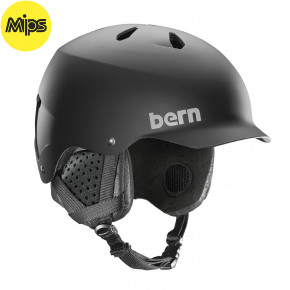 Go to the product Helmet Bern Watts Mips matte black 2020/2021