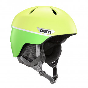 Przejść do produktu Kask Bern Weston Jr matte hyper green split 2018/2019