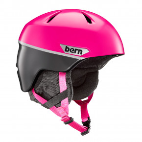 Go to the product Helmet Bern Weston Jr satin magenta split 2018/2019