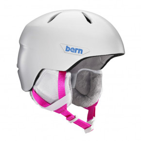 Go to the product Helmet Bern Weston Jr satin white 2018/2019