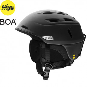 Go to the product Helmet Smith Camber Mips matte black 2019/2020