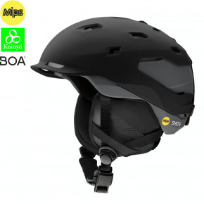Go to the product Helmet Smith Quantum Mips matte black charcoal 2020/2021