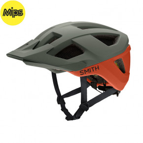 Go to the product Helmet Smith Session Mips matte sage/red rock 2020