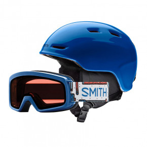 Przejść do produktu Kask Smith Zoom Jr./rascal blue 2018/2019