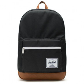 Přejít na produkt Batoh Herschel Pop Quiz black/tan synthetic leather 2020