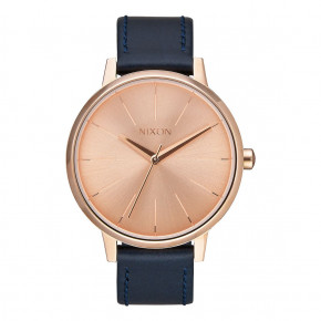 Go to the product Watch Nixon Kensington Leather rose gold/navy 2017