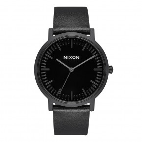 Go to the product Watch Nixon Porter Leather all black/black 2019