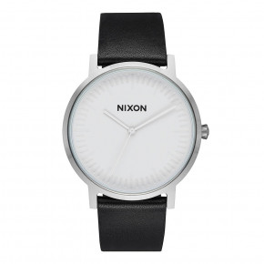 Go to the product Watch Nixon Porter Leather white/silver/black 2018