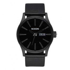 Go to the product Watch Nixon Sentry Leather all black/black 2019
