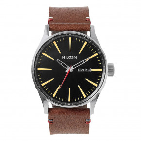 Go to the product Watch Nixon Sentry Leather black/brown 2019
