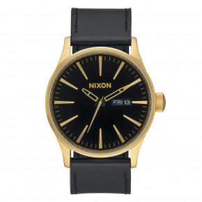 Go to the product Watch Nixon Sentry Leather gold/black 2019