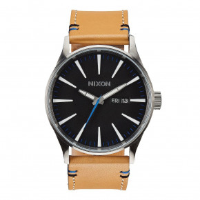 Go to the product Watch Nixon Sentry Leather natural/black 2019