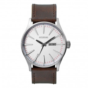 Przejść do produktu Zegarki Nixon Sentry Leather silver/brown 2018
