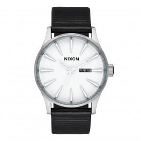 Go to the product Watch Nixon Sentry Leather white/silver/black 2019
